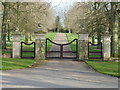 TF8117 : Gated entrance to The Wicken by Richard Humphrey