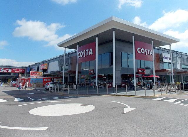 costa  newport retail park  u00a9 jaggery    geograph britain and ireland