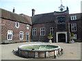 TQ2476 : Courtyard at Fulham Palace by Marathon