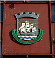 NS3274 : Port Glasgow Coat of Arms by Thomas Nugent