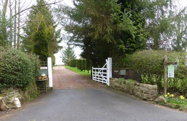 Gateway to Chesterhill Old Farm