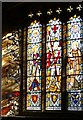 SS8538 : Stained glass window, St Mary Magdalene's, Exford by nick macneill
