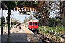 TQ2473 : Southfields Station by Dr Neil Clifton