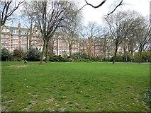 TQ2782 : St John's Wood Church Grounds by Paul Gillett
