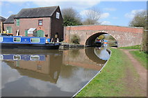 SP0272 : Bridge 60, Worcester and Birmingham Canal by Philip Halling