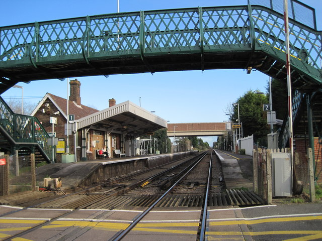 Goring-by-Sea railway station, West Sussex