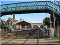 TQ1003 : Goring-by-Sea railway station, West Sussex by Nigel Thompson