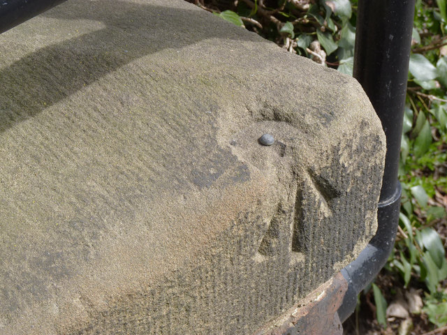 Bench Mark, Potwell Dyke bridge