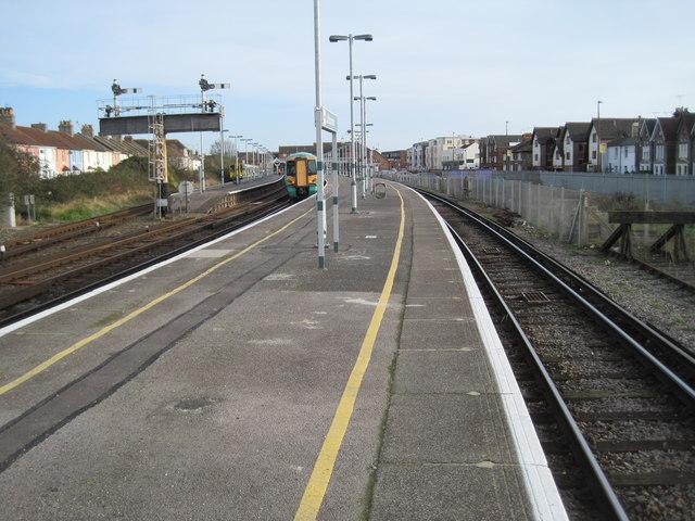 Littlehampton railway station, West Sussex