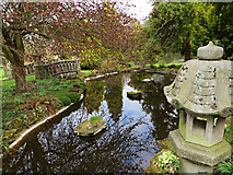 TR0660 : Pond at Mount Ephraim by Paul Harrop