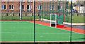 J4569 : Hockey pitch, Comber by Albert Bridge