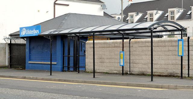 Former bus station, Comber