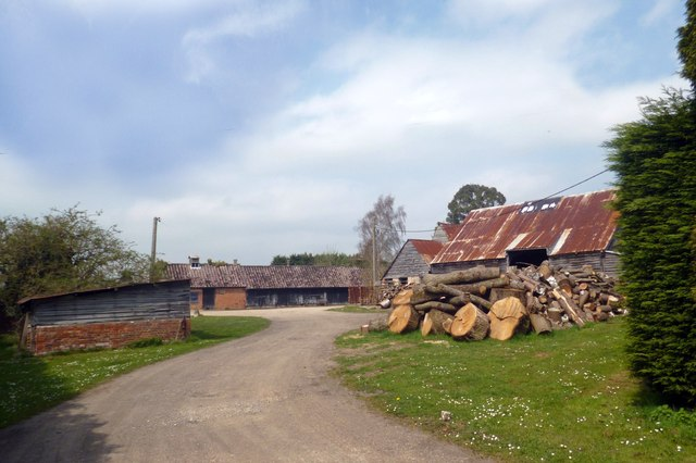 Logs in the Yard, Mayo's Farm