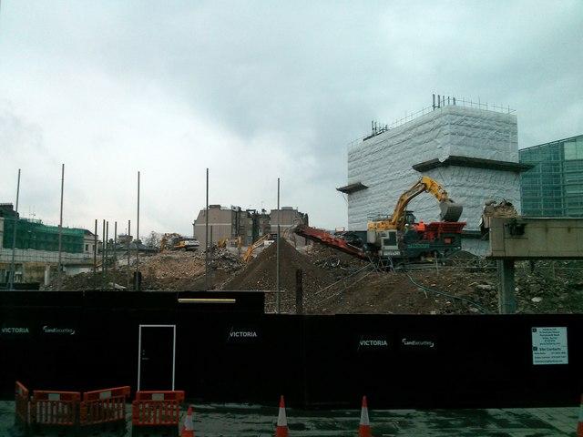 Demolition in Victoria