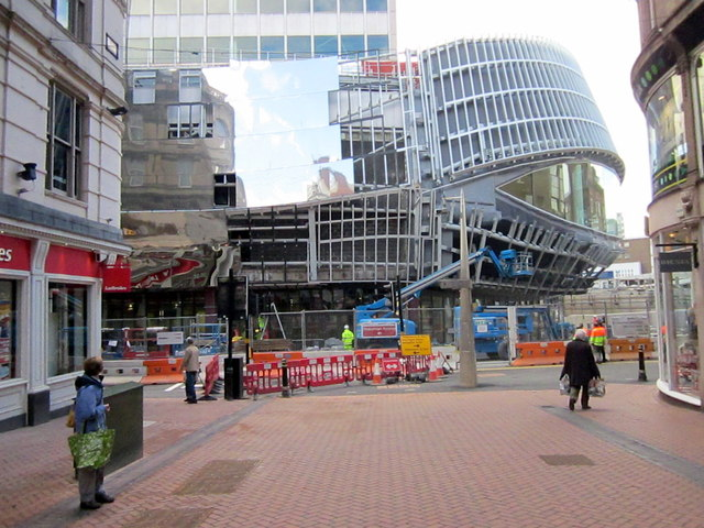New Street Station, New Entrance Nearly Ready (2)