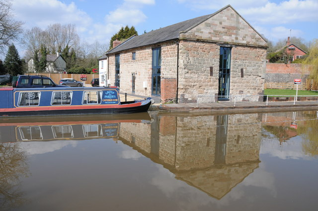 Converted building at Tardebigge
