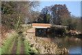 SU9945 : Bridge over the Wey Navigation by N Chadwick