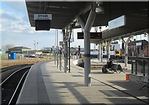 SK3635 : The south end of Derby Midland Station by John Sutton