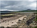 HY4532 : Shoreline, Scock Ness, Rousay, Orkney by Claire Pegrum