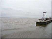 SJ3681 : Mersey estuary near to high tide by Christine Johnstone