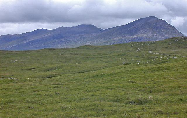 View towards Fisherfield Munros by Nigel Brown