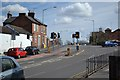 SP2965 : Light-controlled junction, Emscote Road, for Tesco Warwick by Robin Stott