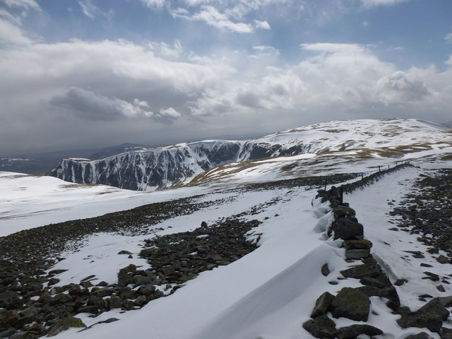 Monega Hill and Glas Maol