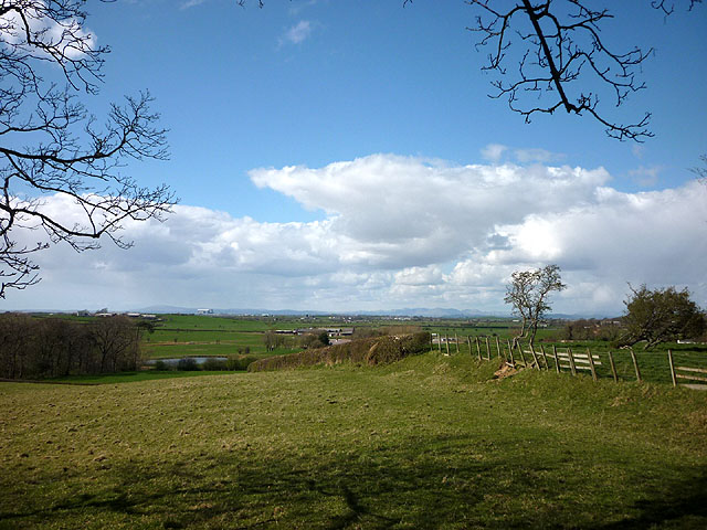 View from the hill north west of Cockerham