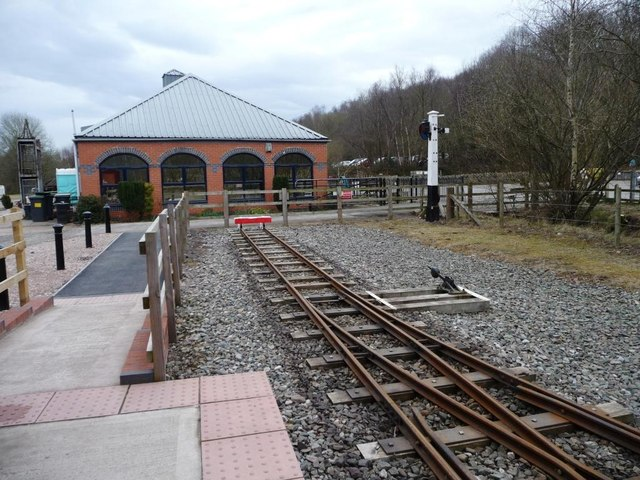 The end of the line, Apedale Valley Light Railway