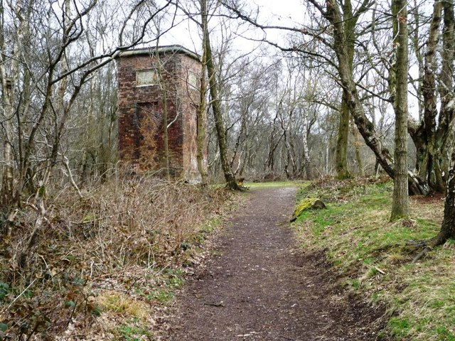 Path to Watermills Chimney, Watermills Wood