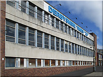 SK3871 : Chesterfield - Derbyshire Times offices by Dave Bevis