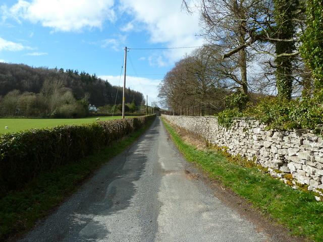 Road to Haverbrack