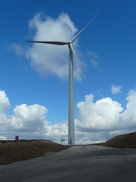 Turbine No1 Oswaldtwistle Wind Farm