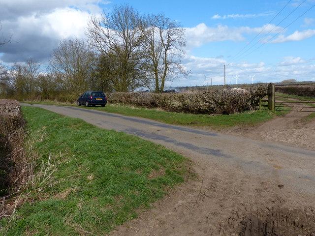 Dunton Lane near Ashby Parva by Mat Fascione