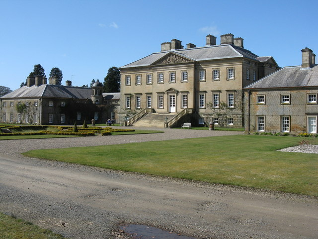 Dumfries House from the southeast