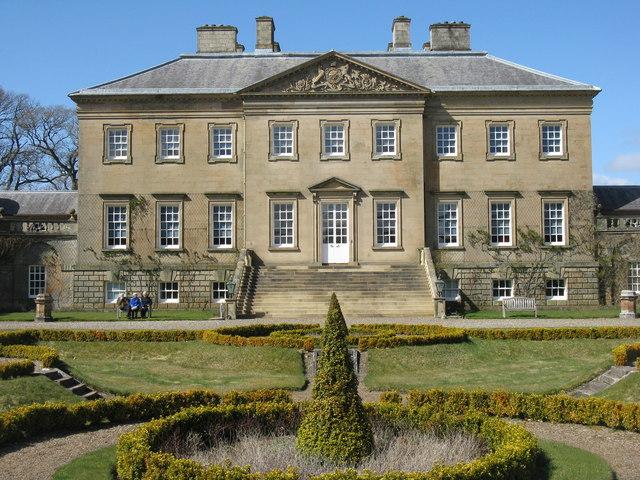 Dumfries House - Main Entrance