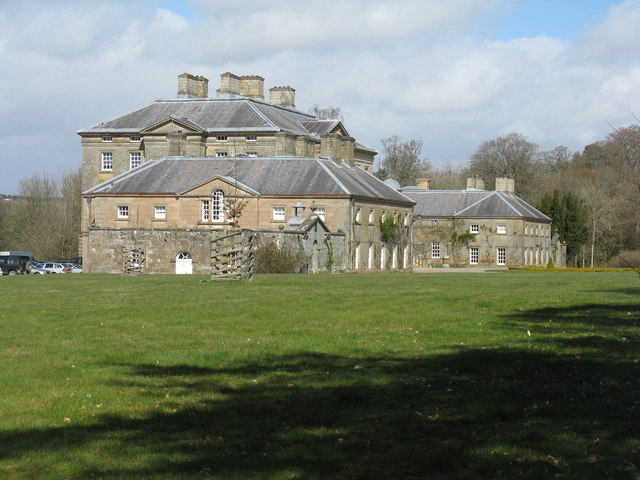 Dumfries House from the southwest