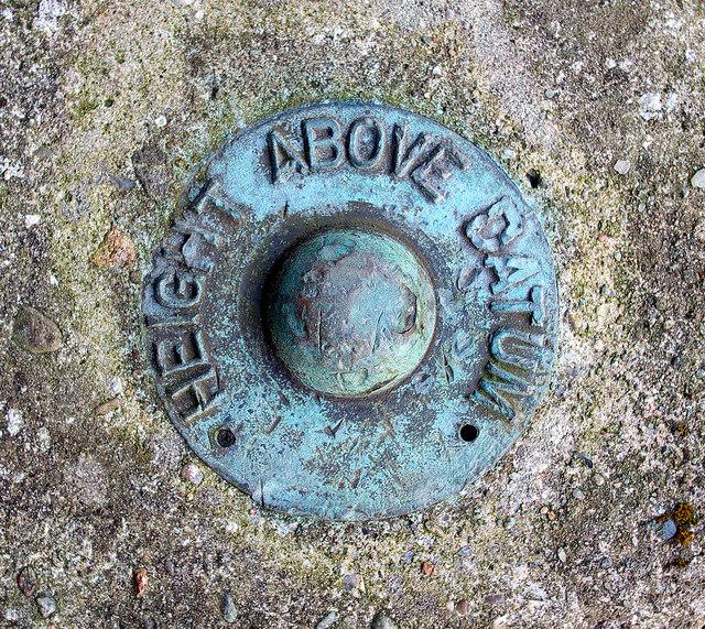 Fundamental Bench Mark, Glasgow