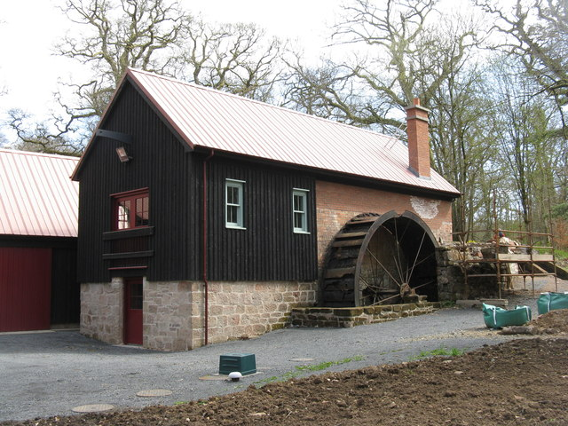 Sawmill at Dumfries House estate