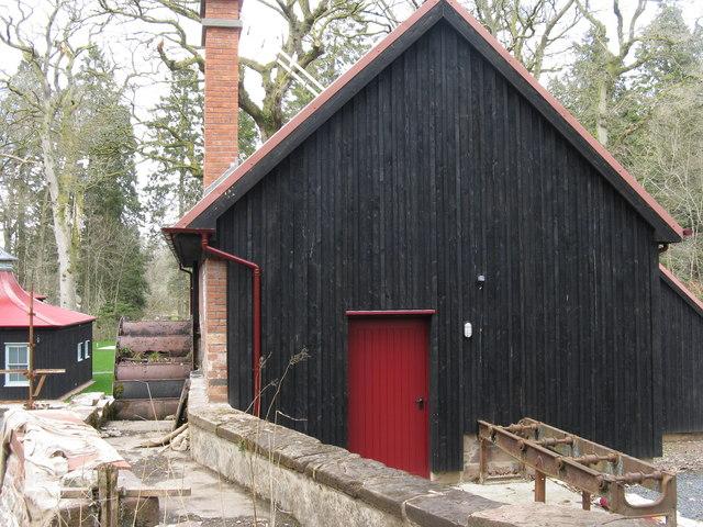 Dumfries House sawmill