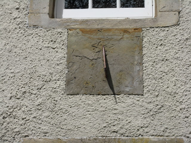 Sundial on Stables House