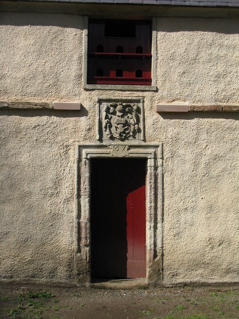 Dumfries House doocot entrance
