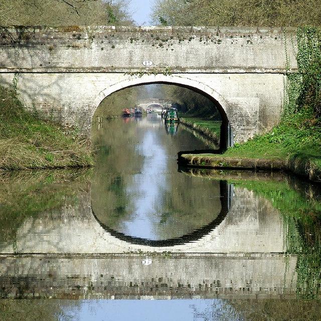 Bridge No 17 south-east of Wheaton Aston, Staffordshire