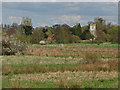 TQ0154 : River Wey watermeadows by Alan Hunt