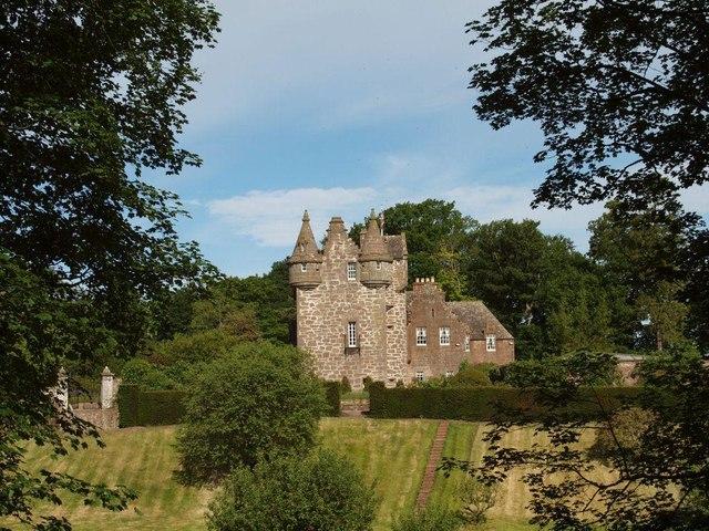Gardyne Castle from East