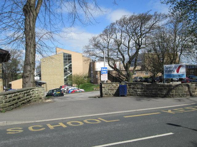Spen Valley Sports College - Roberttown Lane by Betty Longbottom