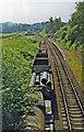 SO7289 : Eardington Halt, Severn Valley Railway 1997 by Ben Brooksbank