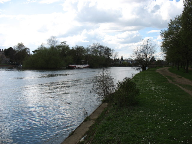 The River Thames and Thames Ditton Island