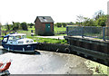 TG4010 : Pump house and sluice at Acle Dyke by Evelyn Simak