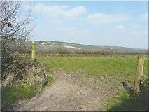 SX0076 : View from gateway near Trewethern by John Baker